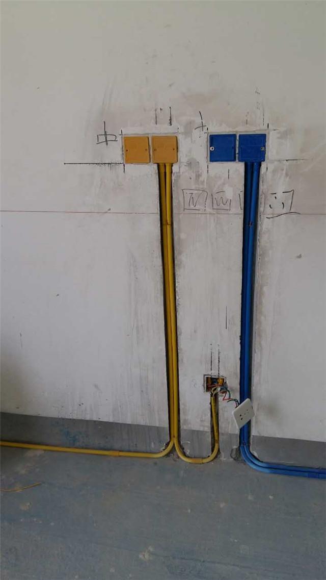 龙发装饰水电路施工细节地方您能看懂么