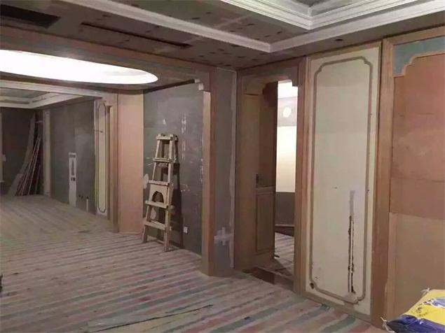 酒店装修施工现场图片
