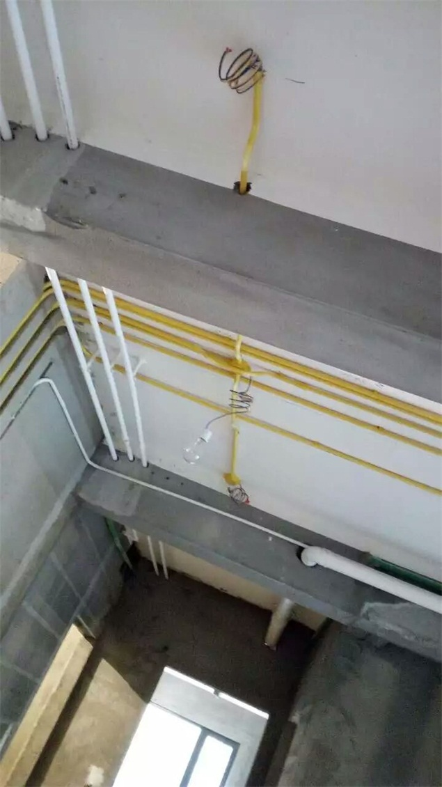 水电路施工照片—北京龙发装饰郑州分公司|郑州龙发